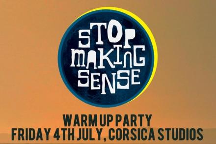 stop making sense warm up party