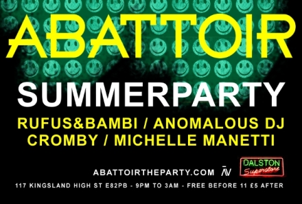 ABATTOIR SUMMERPARTY FEAT IMG